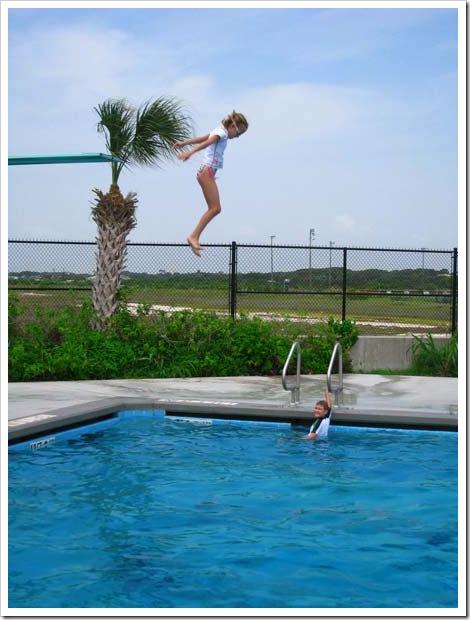 Rheagan jumping