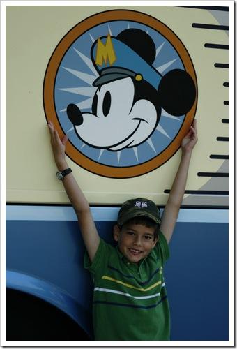 Jackson at 8 at Disneyworld