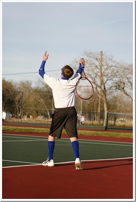 Tennis, old-school style