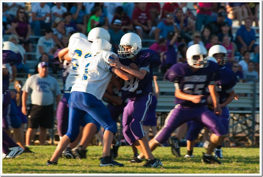 Payne Odem Jr. High football 8th grade