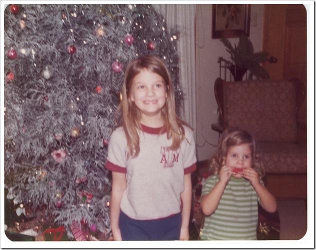 6 yrs christmas with karen